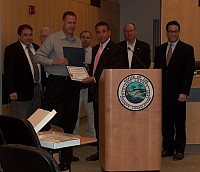 Leg Hofstein Recognizes Bravery of Rockland Correction Officers - 07/09/15