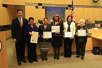 Women's History Month Honorees - 03/16/15